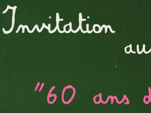 60 ans d'école…