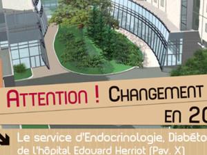 Déménagement de l'Endocrinologie du CHLS