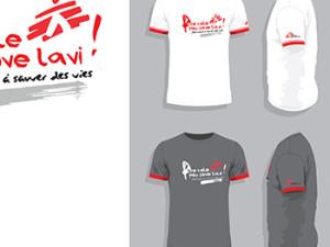 Tshirts / Equipe logistique MSF Suisse en Haïti