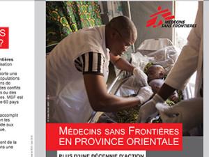 Activités 2015 MSF Suisse en RDC