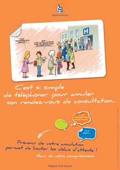 """Campagne d'affichage """"Sensibilisation des patients"""""""