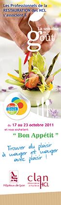 Semaine du goût 2012 aux HCL