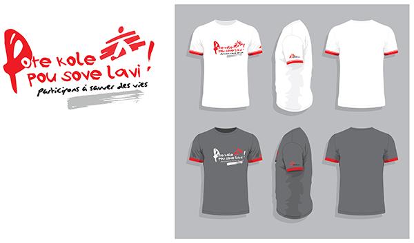Tshirts / MSF Suisse en Haïti
