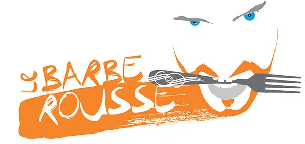 "Logo ""Le Barbe Rousse"""